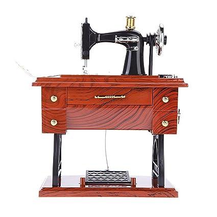 Amazon Ochine Sewing Machine Music Box Musical Retro Classical Cool Sewing Machine Music Box