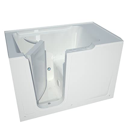 Merveilleux Meditub MT3660LWA Bariatric 36 By 60 By 40 Inch Air Jetted Walk In Bathtub  Spa