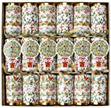 Caspari Celebration Crackers with Luxury Embellishments, 12.5 Inch, 12 Days
