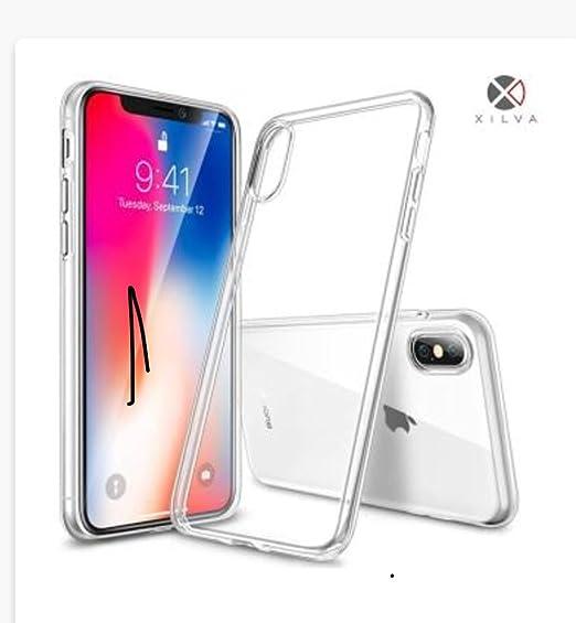 best website 86c24 71255 Amazon.com: iPhone X Case, CaseX Transparent Crystal Clear Slim Fit ...