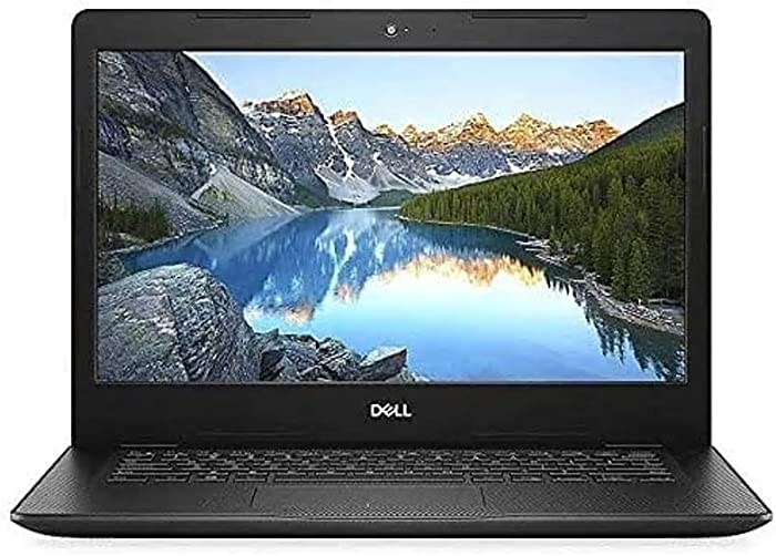 """Dell Inspiron 14 14"""" HD Anti-Glare LED-Backlit Laptop for Students and Business, Intel Pentium Gold 5405U, 8GB DDR4, 256GB NVMe SSD, HDMI, Bluetooth, Webcam, Windows 10 S, TWE Micro 64GB SD Card"""