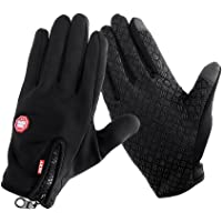 iTimo Outdoor Sports Skiing Gloves, Bike Cycling Gloves, Windproof Winter Gloves, Warm Touch Screen Gloves