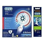 Oral-B Professional Care 5000 Smart Cepillo Eléctrico con Bluetooth + 2 Repuestos Cross Action