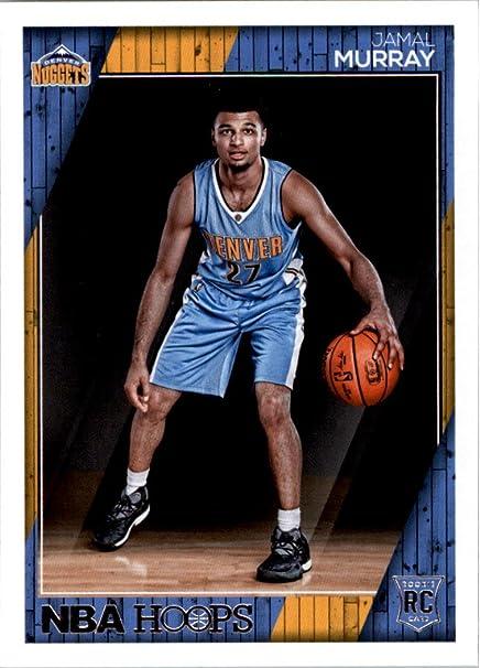 official photos 512d7 beb60 2016-17 NBA Hoops Basketball #267 Jamal Murray RC Denver ...