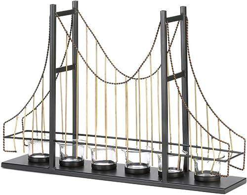 GOLDEN GATE SUSPENSION BRIDGE CANDLE HOLDER HOLDERS