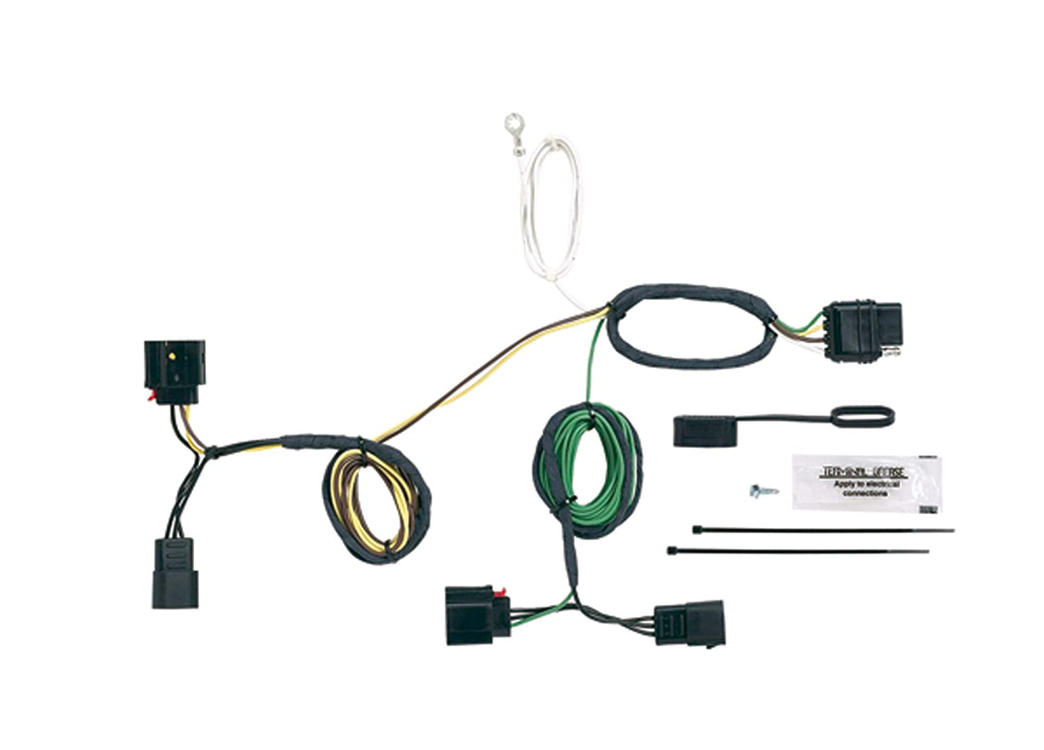 Hopkins 42555 Plug-In Simple Vehicle to Trailer Wiring Kit Hopkins Towing Solution
