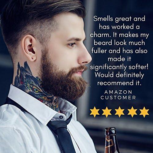 Aceite para barba de calidad superior con aceite de coco, argán y ...