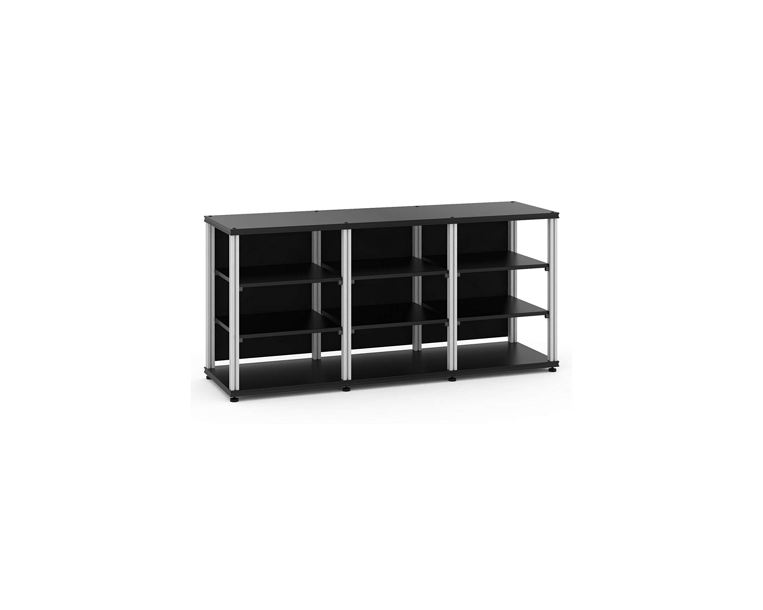 Salamander Synergy Triple 30 - Core Module (Black/Aluminum) Triple AV Cabinet by Salamander