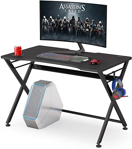 Tribesigns Computer Gaming Desk Mesa de escritorio para PC Gaming ...