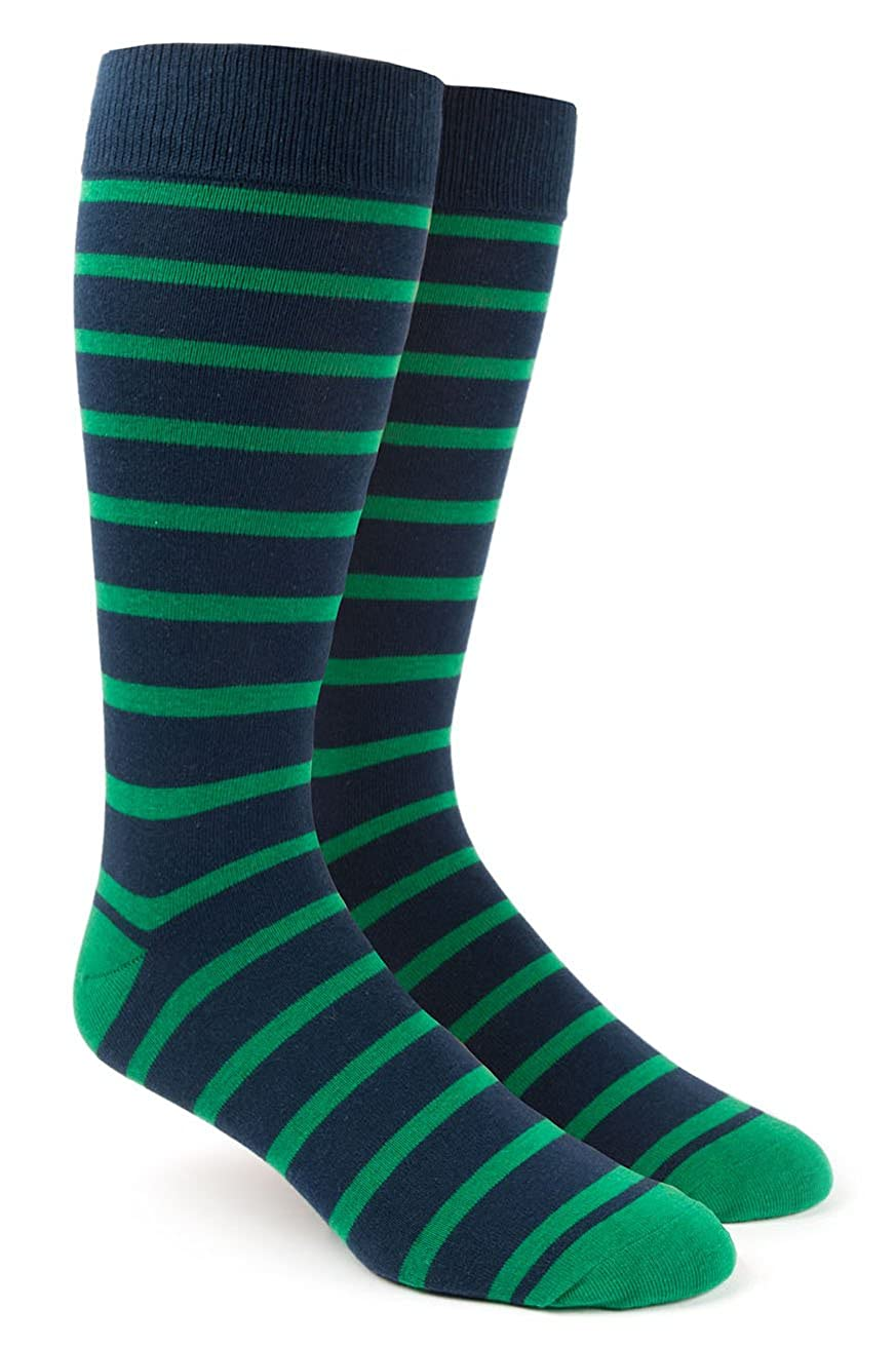 The Tie Bar Trad Stripe Men's Cotton Blend Dress Socks 889938394920