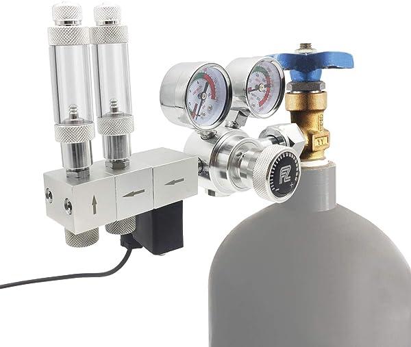 CO2 Druckminderer für Aquarium