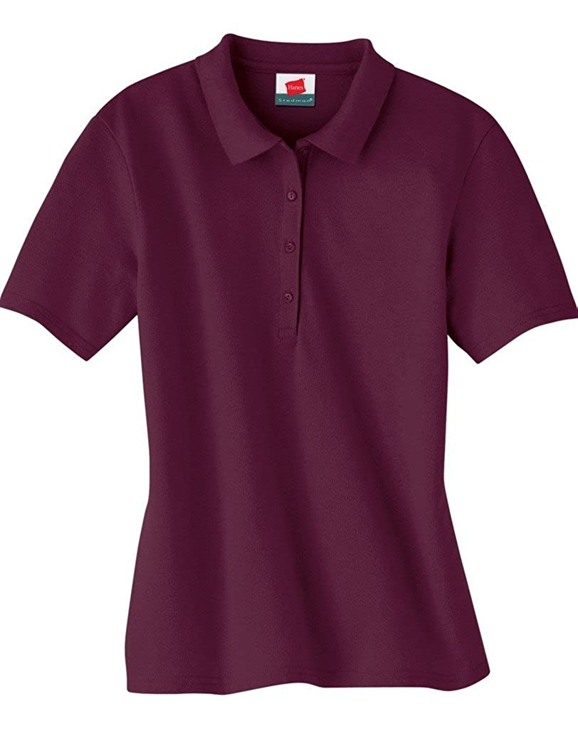 Hanes Stedman Ladies' 7 oz. Cotton Pique Polo 035 Hanes 035