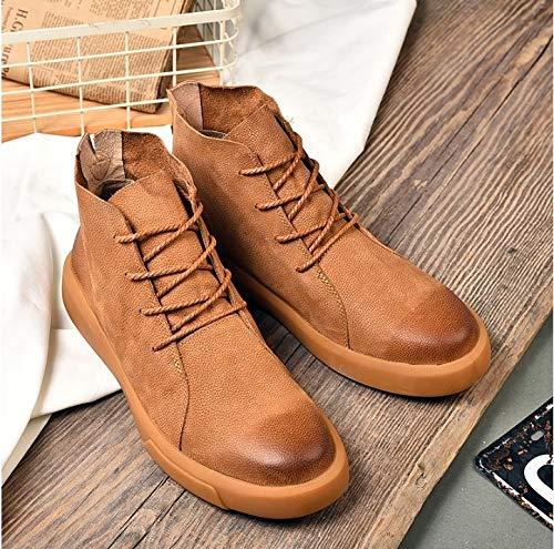Pour D'hiver Occasionnels Chaussures Sport Plein Fmwlst Bottes Hommes Air Automne De En Pu Et qwBgz0