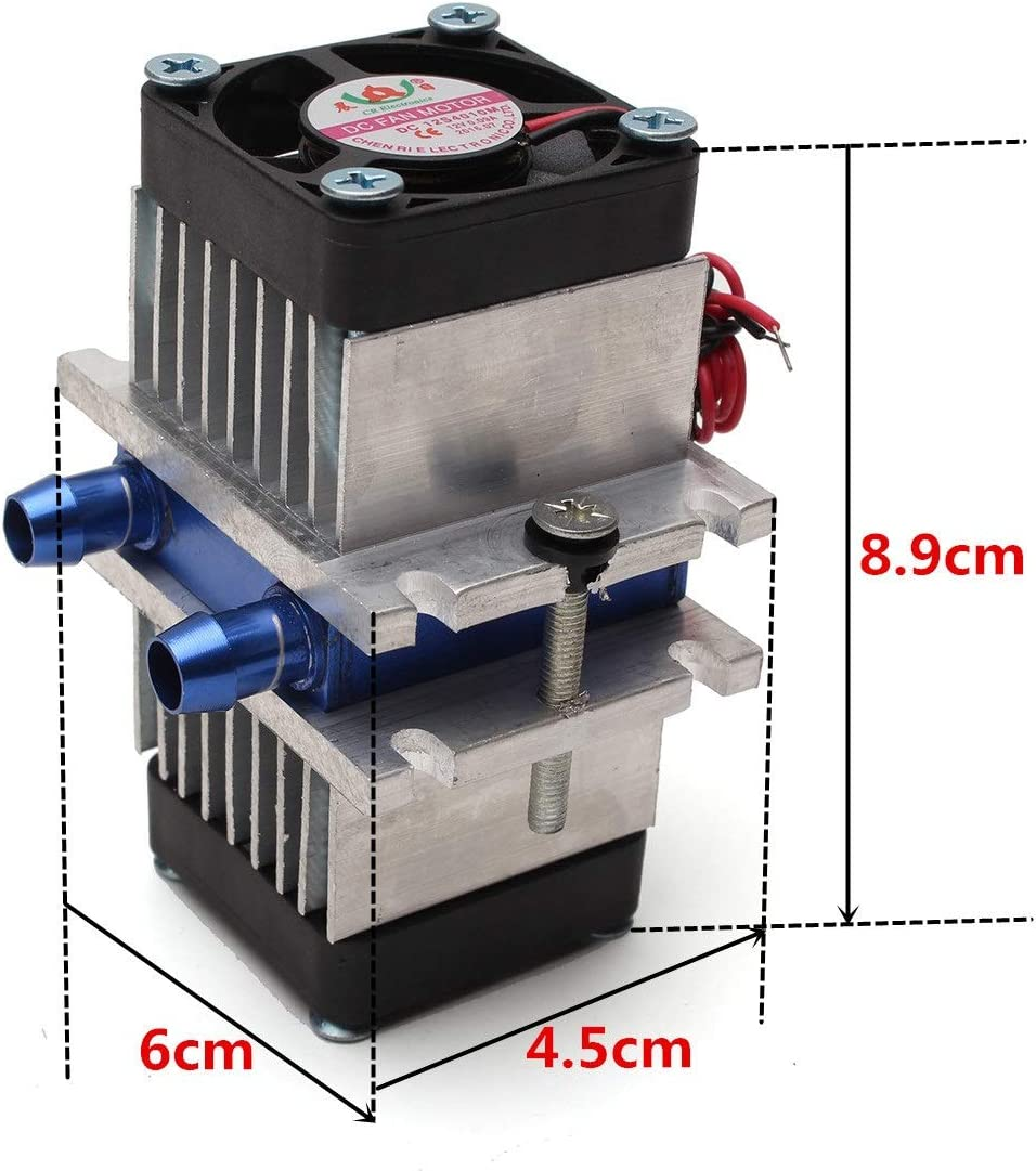 Fan Kit Eater Nrthtri smt DIY Thermoelectric Peltier Semiconductor Refrigeration Cooling System