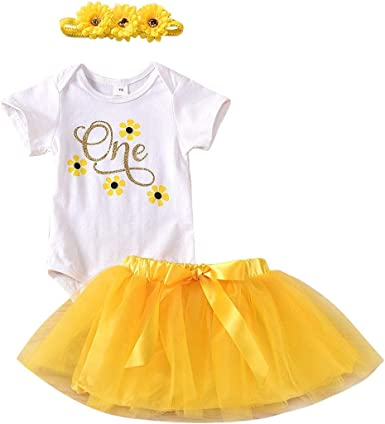 First Birthday Outfit Sunflower First Birthday outfit Boho First Birthday Outfit