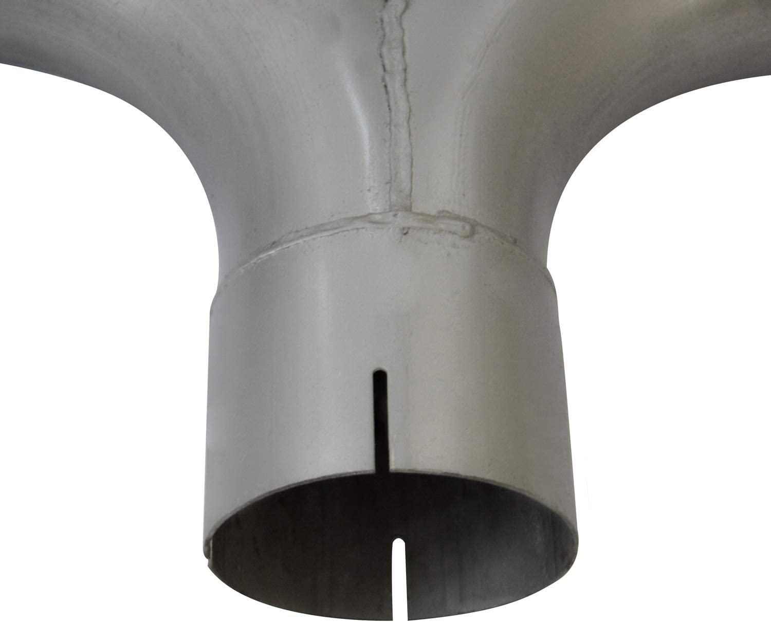 4 ID//OD Aluminized Y-Pipe Elbow With Divider,4 ID 4 OD-4 OD Y-Pipe With Bracket Exhaust Stack Pipe