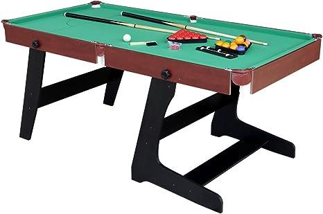 hlc 6 Pies Plegable Snooker/Billar Mesa De Billar con Verde y ...
