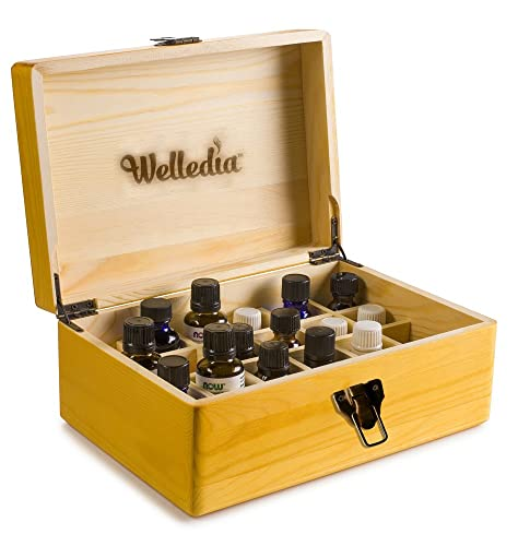 Welledia AromaStorage Essential Oil Wooden Box