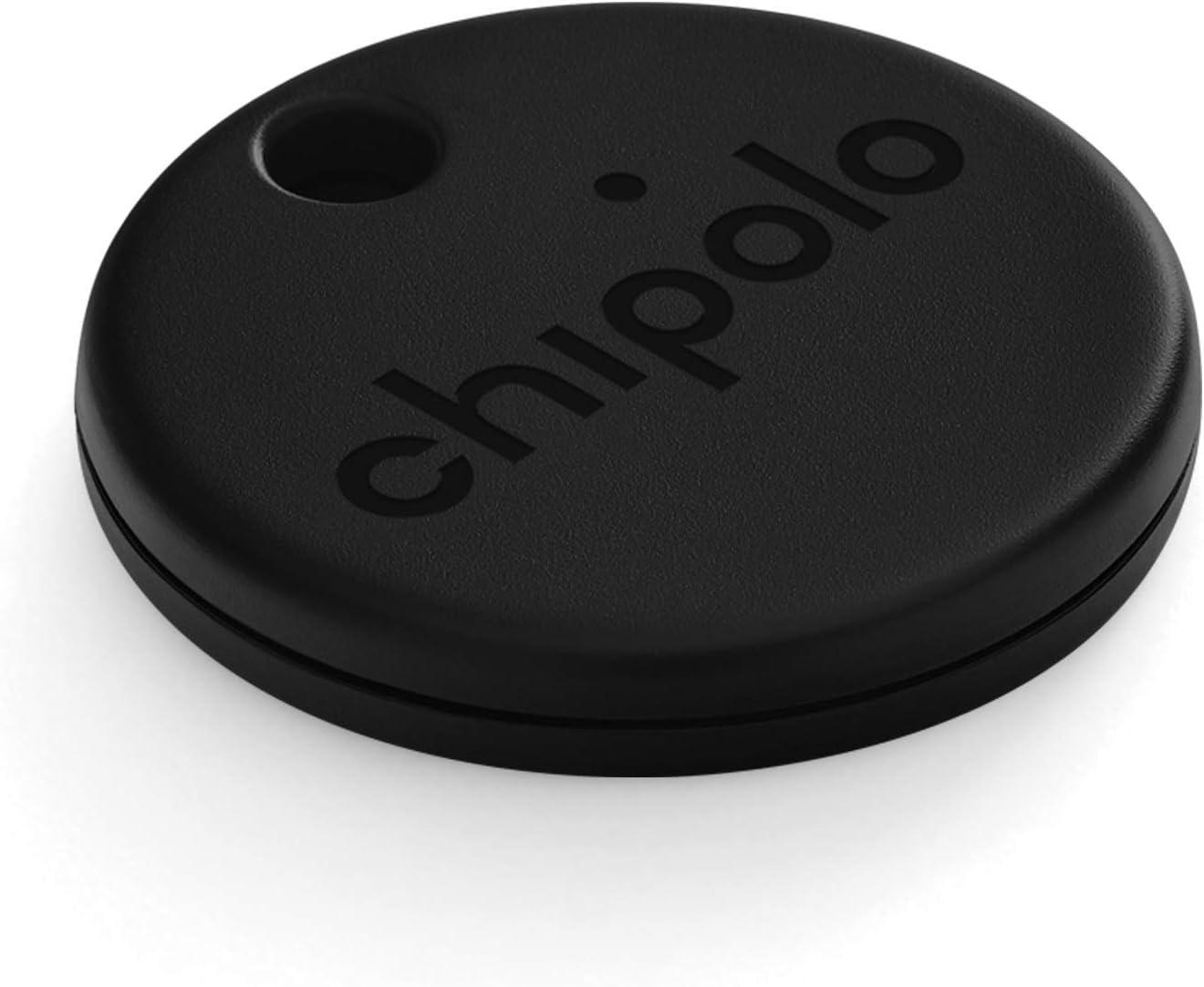 Schwarz Chipolo ONE - Lautester Wasserresistentes Bluetooth Schl/üsselfinder 2020