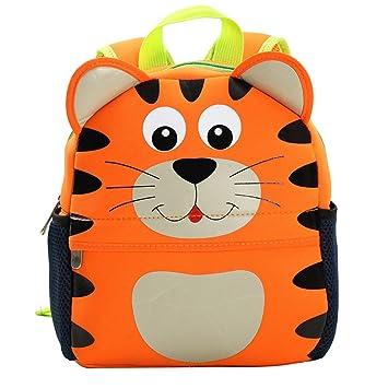 Amazon.com: Kids Backpack,10 Inch Digital Art Waterproof Toddler ...