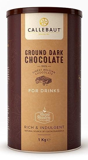 El chocolate Callebaut caliente con chocolate negro / chocolate belga , 1 kg