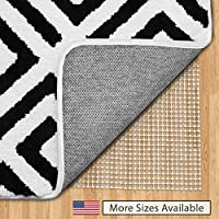 Gorilla Grip Original Area Rug Gripper Pad (5x7), Made In USA Hard Floors, Pads Available in Many Sizes, Provides Protection Cushion Area Rugs Floors