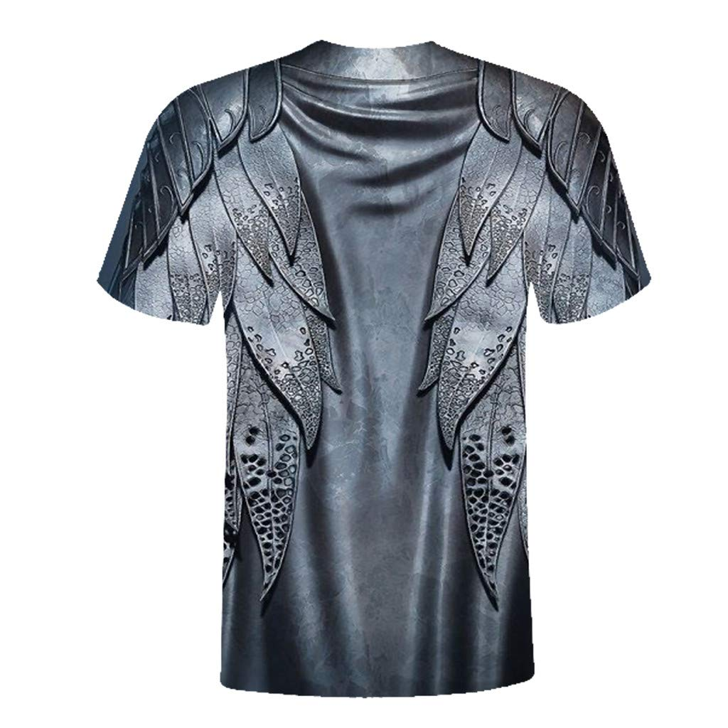 STORTO Mens Funny Stag Party Fancy T-Shirts 3D Offensive Boobs Printed Tee Shirts Tops