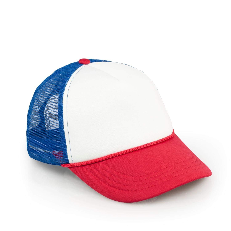 Stranger Things Red, White & Blue Mesh Trucker Cap