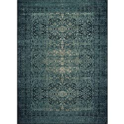"Loloi Rugs, Journey Collection - Indigo/Blue Area Rug, 7'6"" x 10'5"""