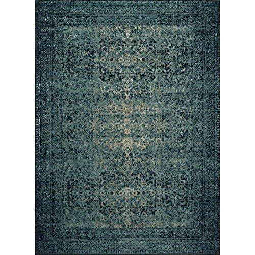"Loloi Rugs, Journey Collection - Indigo/Blue Area Rug, 7'6"" x 10'5"""