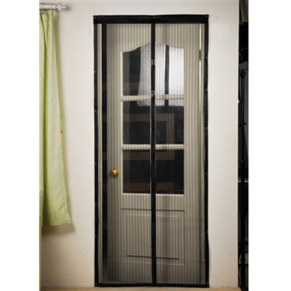 Usa Star Magnetic Screen Door - Full Frame Velcro,Fits Door Up To 39x82 Inch