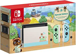 Animal Crossing: New Horizons Limited Edition Console (Game not included) - Nintendo Switch