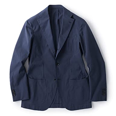 Coolmax Seersucker Jacket BYJ−06: Navy