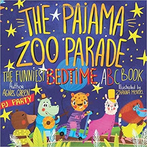 Pajama Zoo Parade: Funniest Bedtime ABC Book