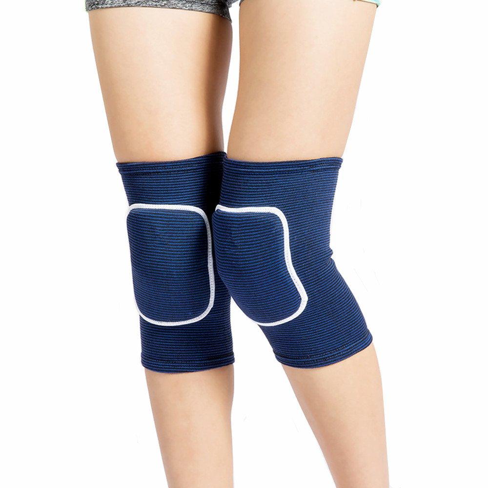 Leegem Best Soft Knee Pads for Dancers/—Biking Football Soccer Tennis Skating Workout Climbing Exercise Work Yoga Pole Dance Volleyball Knee Pads for Women Girls Boys Child