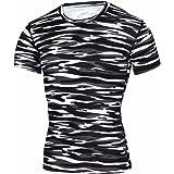 Gate2Light Men's T-Shirt All Sport Workout Apparel Training Short Sleeve Fitness Gym Sportswear Activewear