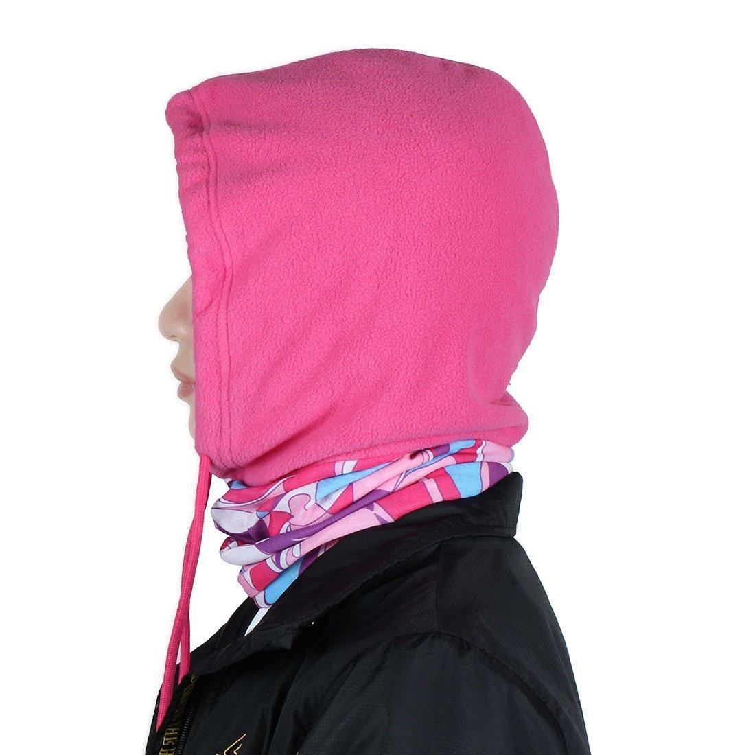 Amazon.com : eDealMax invierno Polar deportes al aire Libre del Viento tapón pasamontañas Sombrero de la capilla carcasa del Casco Cuello de la cara ...