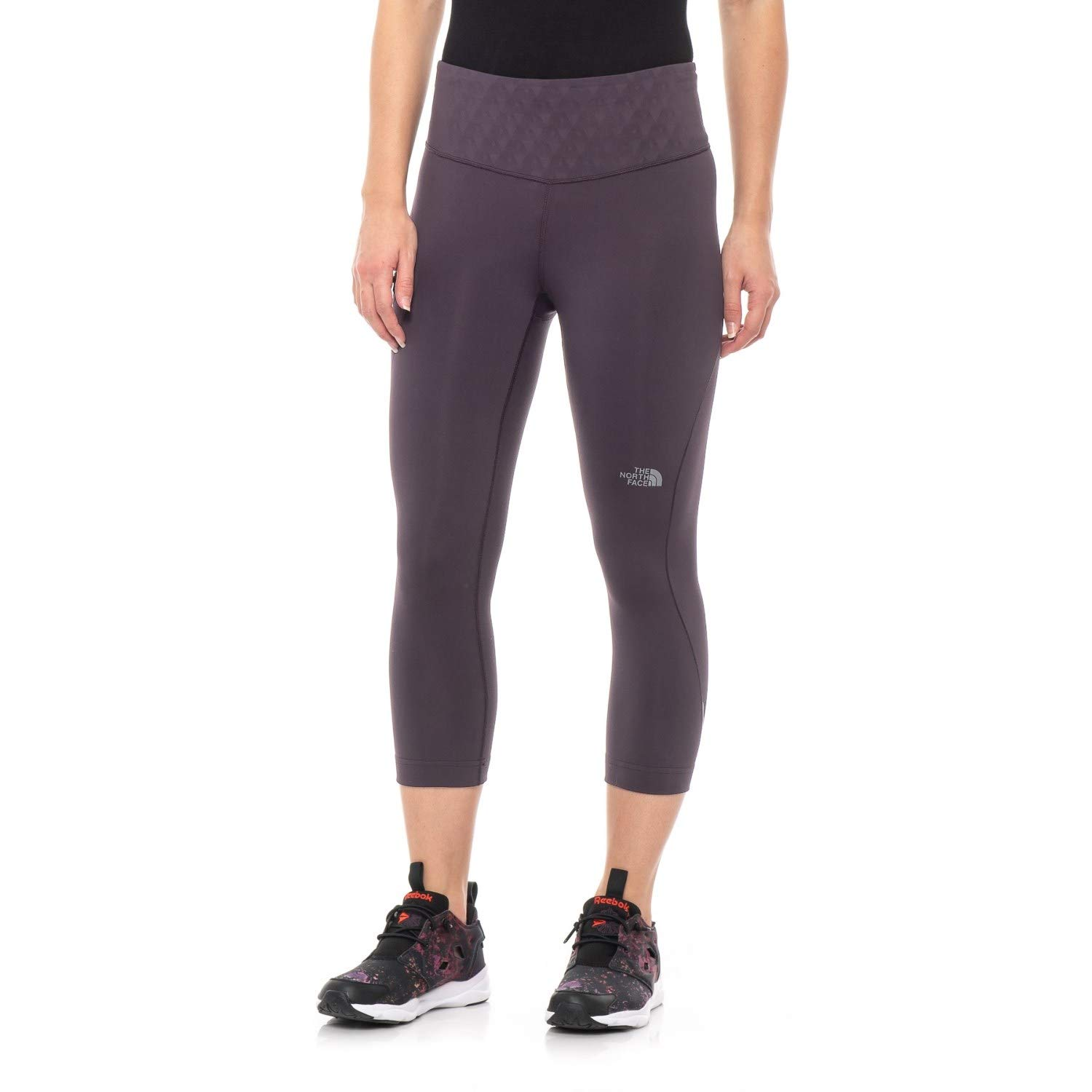 Galaxy Purple THE NORTH FACE Women's Flight Zero Mid Rise Capri Pants