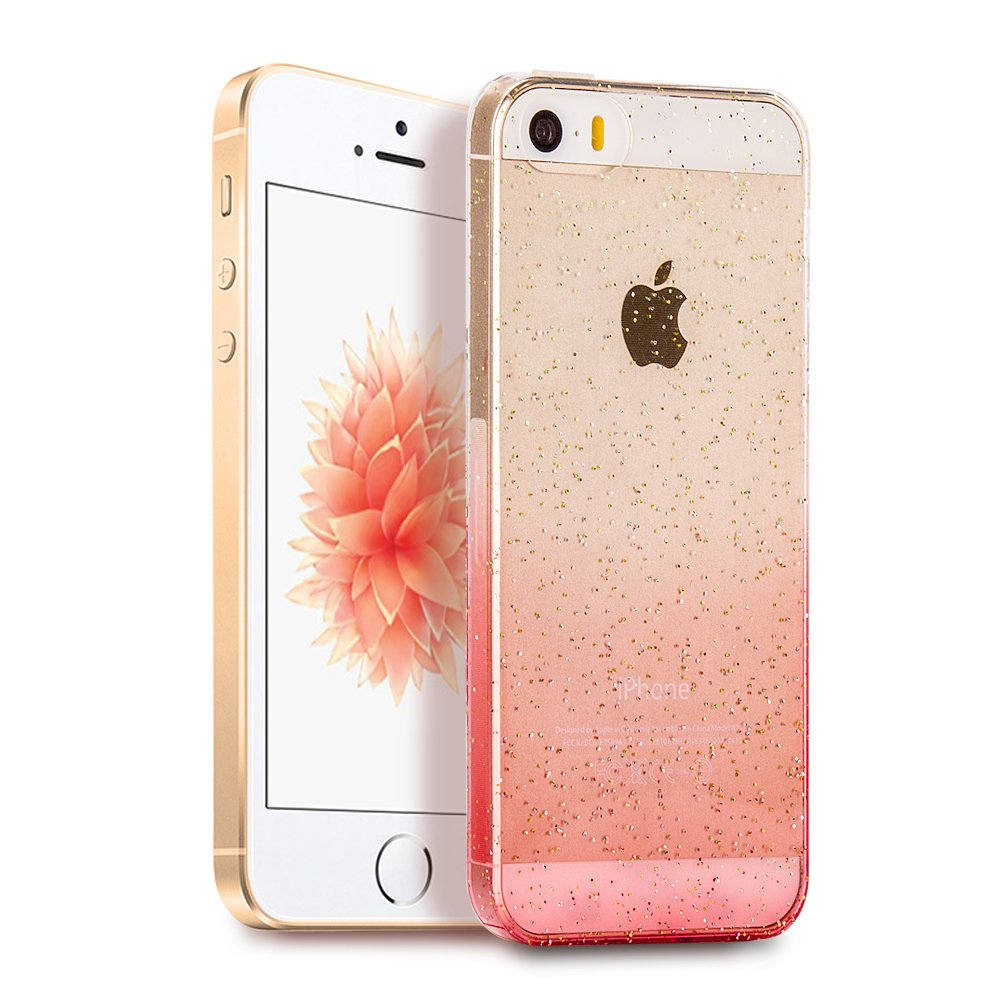 Famavala Ultra Slim Soft TPU Case Cover For iPhone SE 5SE 5S 5 SmartPhone (JBRose)