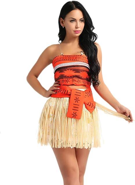 iiniim Disfraz de Princesa Adventura del Mar para Mujer Chica ...