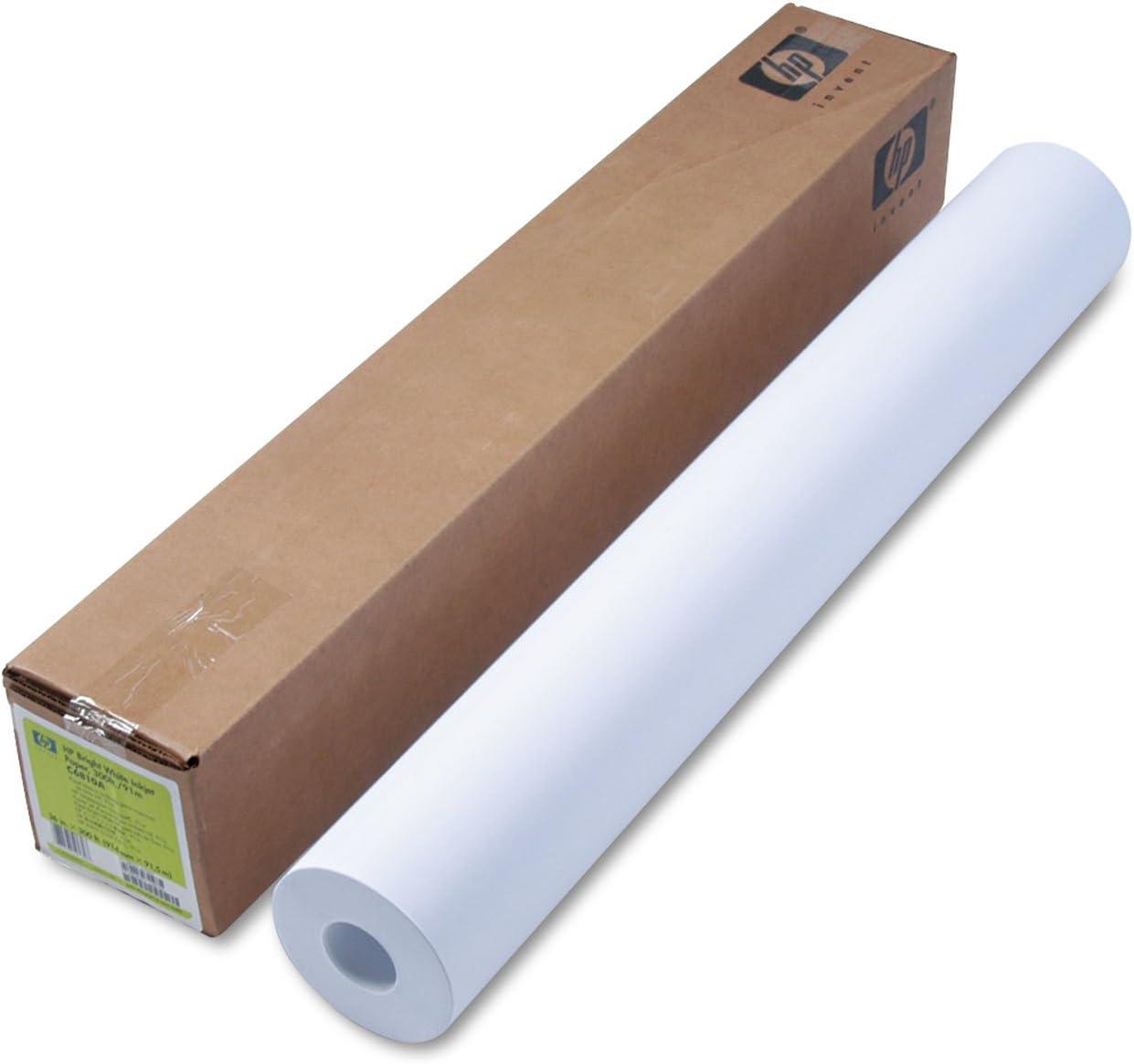 "HP Bond Paper 36"" x 300 ft - 24 lb Basis Weight - Matte - 95 Brightness - 1 / Roll - White"
