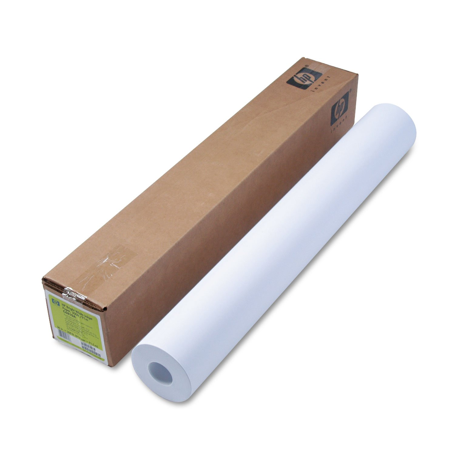 HP C6810A Inkjet Bond Paper,24 lb,36-Inch x300-Ft Roll,95 GE/108 ISO,BR WE by HP