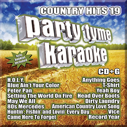[Party Tyme Karaoke - Country Hits 19 [16-song CD+G]] (Karaoke Hit Songs)
