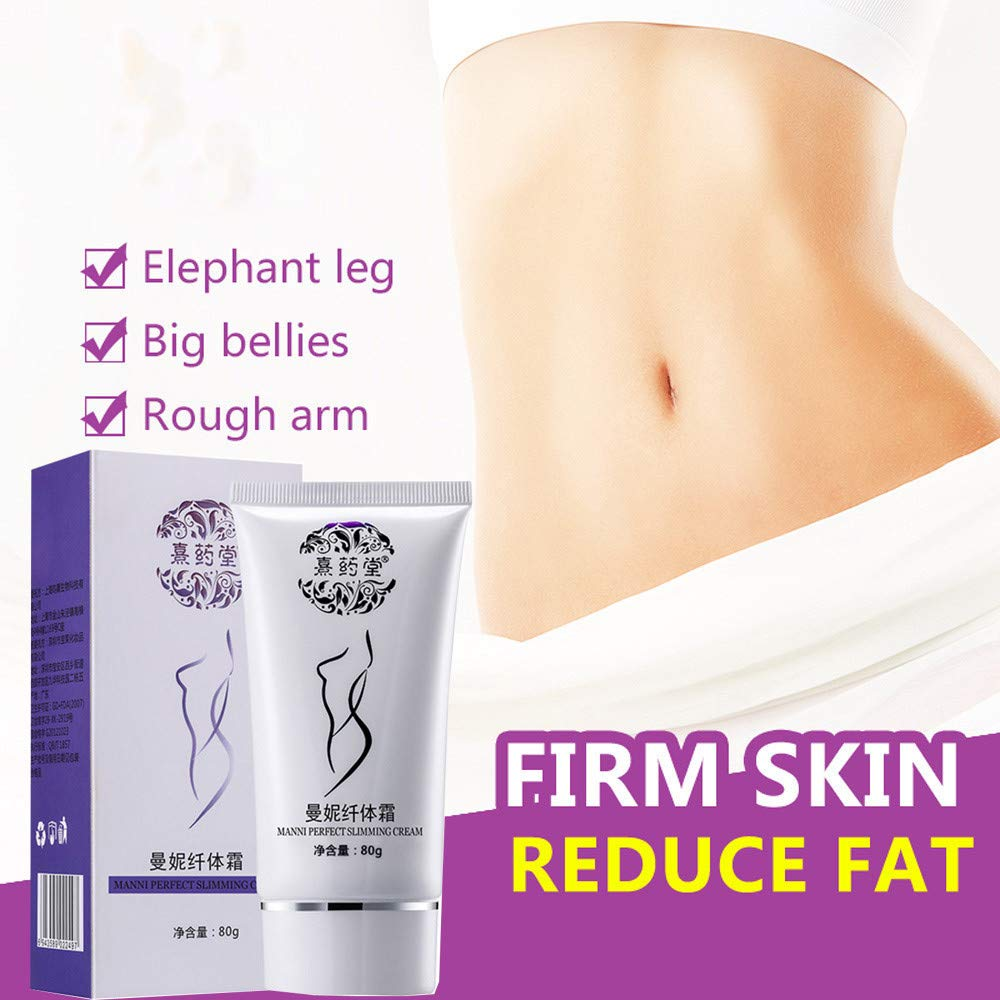 cb45f66d04 Amazon.com   LtrottedJ 80ml Hot Chilli   Ginger Slimming Cream ,Fast Lose  Weight Burn Fat   Beauty
