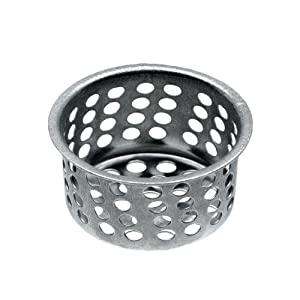 Danco, Inc. 80058 Universal Basket Strainer, 3/4 in H, Chrome Plated, Brass
