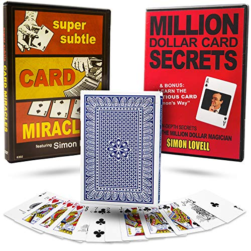 75 Self Working Card Tricks Magic Complete with Trick Deck