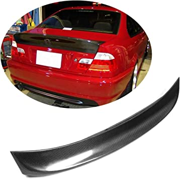 BMW 3 Series E46 Coupe Rear Boot Trunk Spoiler Lip Wing Sport Trim Lid M3 M-Tech