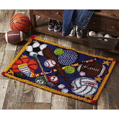 Herrschners® Sports Time Latch Hook Kit ()
