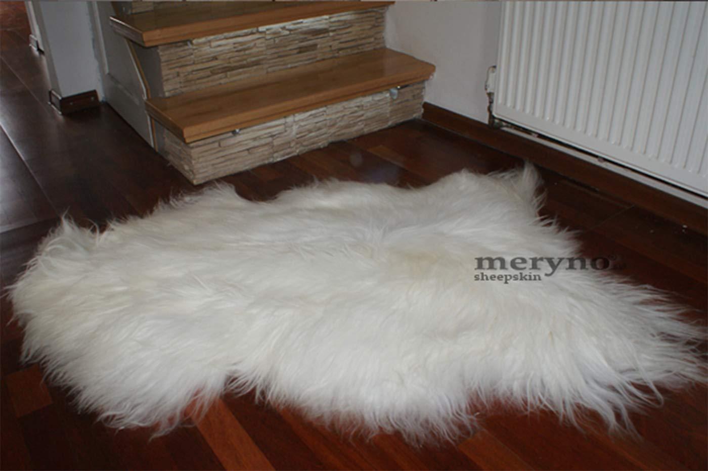 Meryno – Isländischer Schafsfell Schafsfell Schafsfell Teppich Amazing Weiches Wolle, schwarz, x Large B00XBOG1FK Teppiche & Lufer 0b30ae