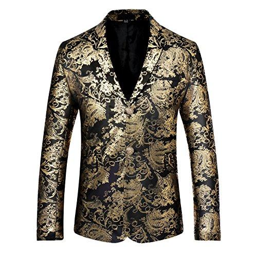 Sndofej Freizeitanzug - Anzug männer zwanglos einreihig Anzug Zwei - knopf - Stempel,zum Beispiel,Farbe,s